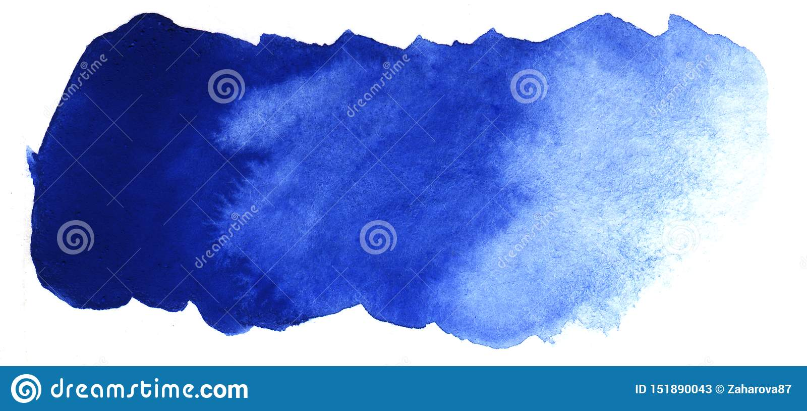 Fondo abstracto del título Un punto oblongo informe del color azul Pendiente de la oscuridad a encenderse