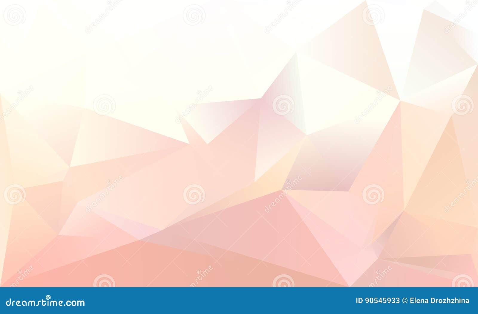 Fondo abstracto del triángulo