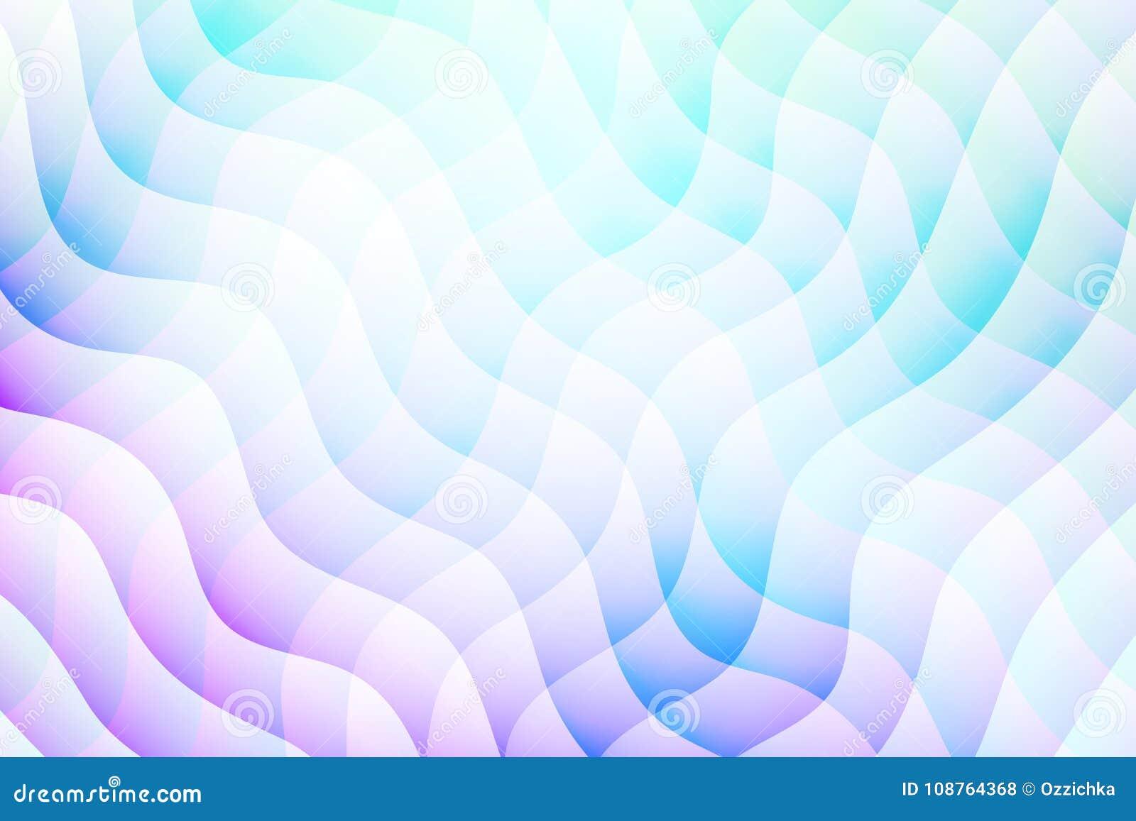 Fondo abstracto del vector Contexto acodado del efecto Textura de Minimalistic con adorno ondulado Bandera, aviador, plantilla de