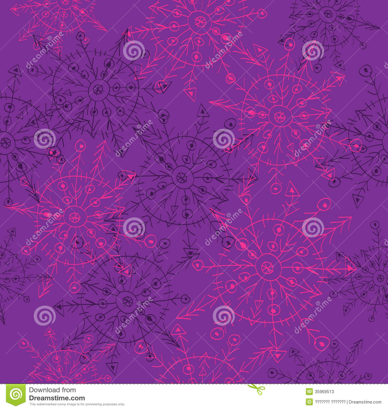 Fondo abstracto del vector de copos de nieve