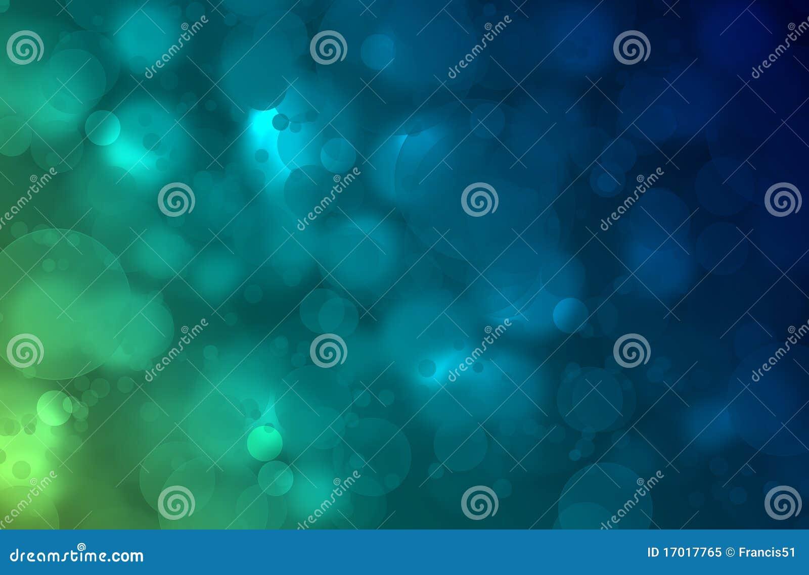 Fondo Abstracto Del Verde Azul Foto De Archivo Libre De