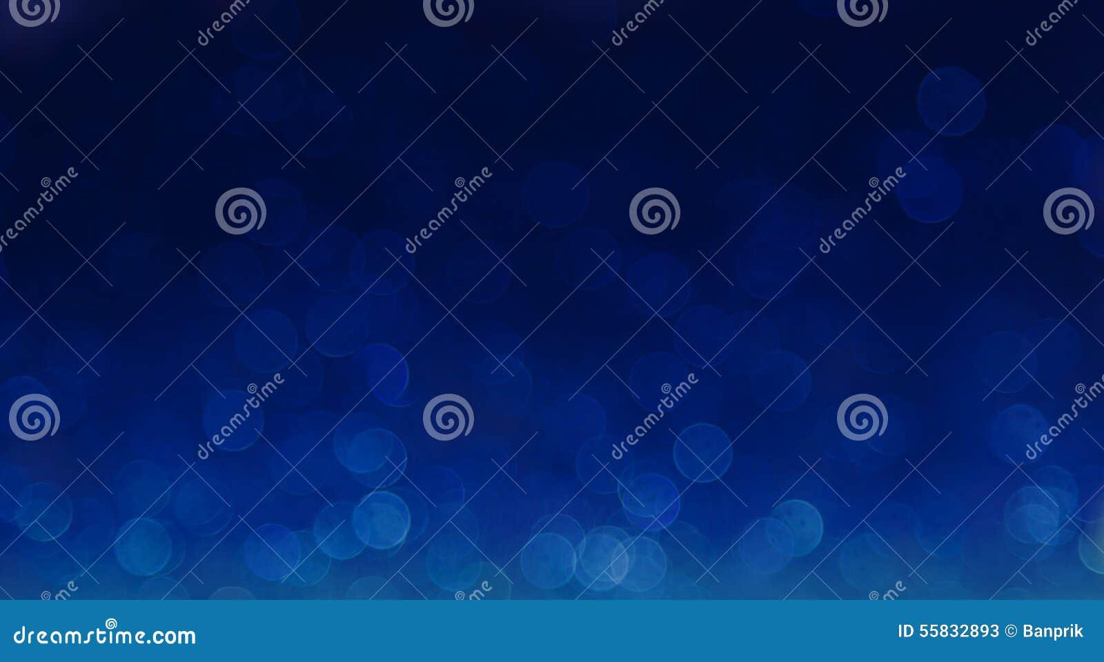 Fondo abstracto elegante azul del bokeh