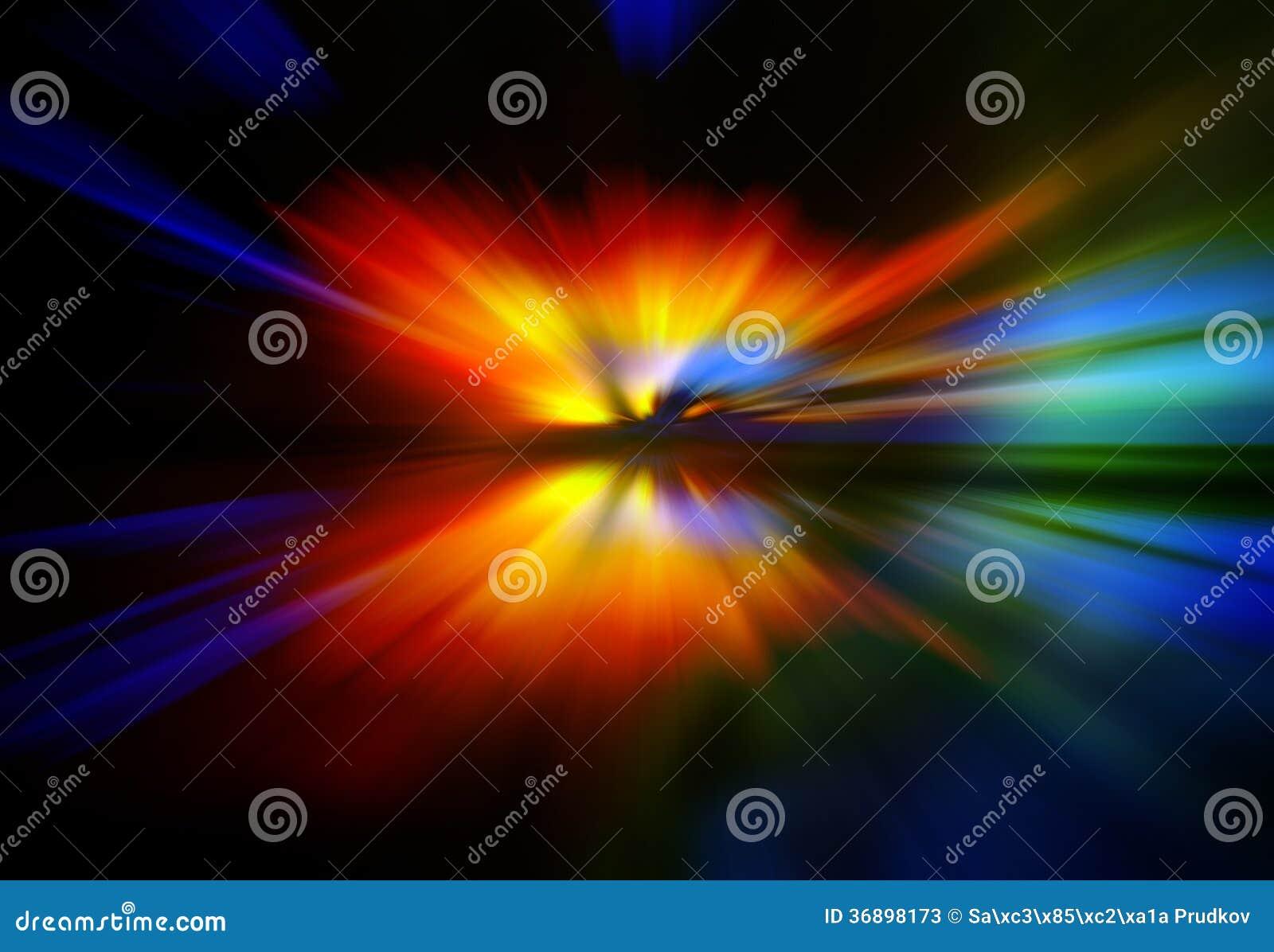 Fondo Fondos Abstractos Rojo Y Amarillo: Fondo Abstracto En Rojo, Amarillo, Verde Y Azul Stock De