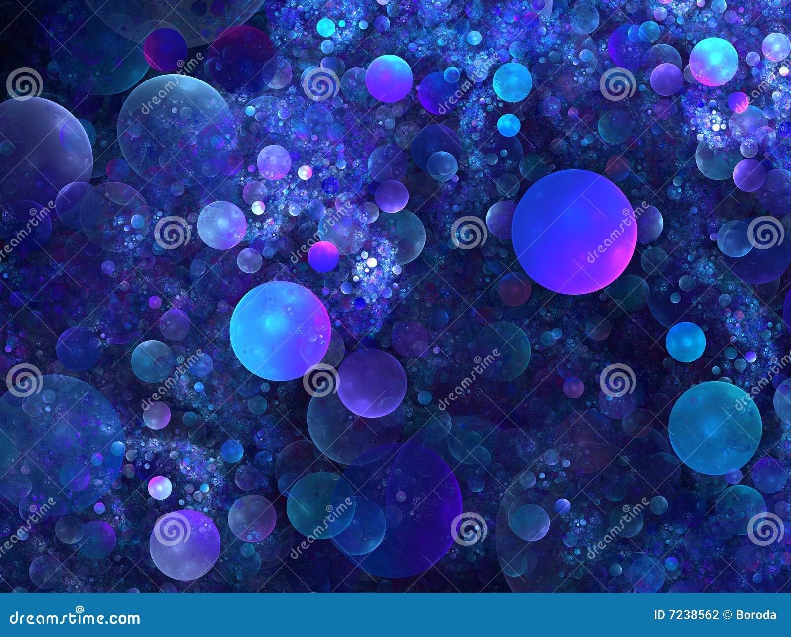 Fondo Abstracto Gama De Colores Azul Stock De