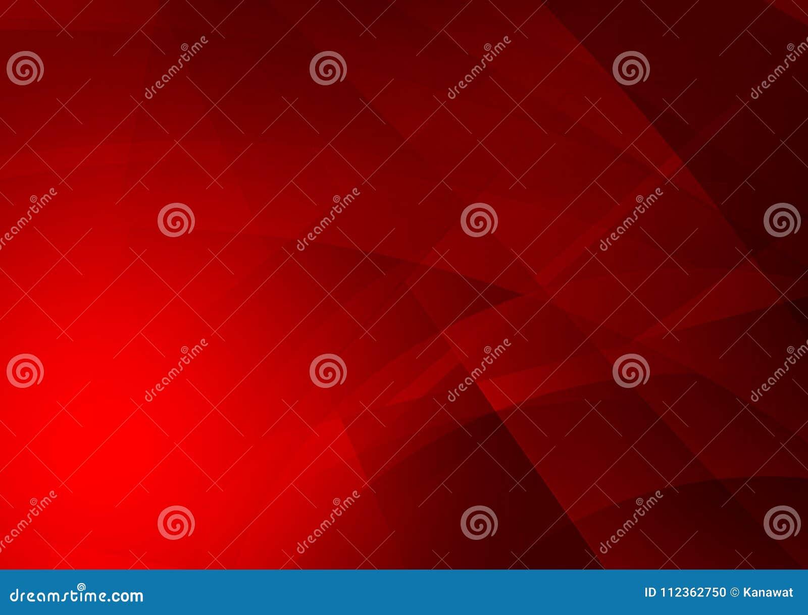 Fondo abstracto geométrico del color rojo, diseño gráfico
