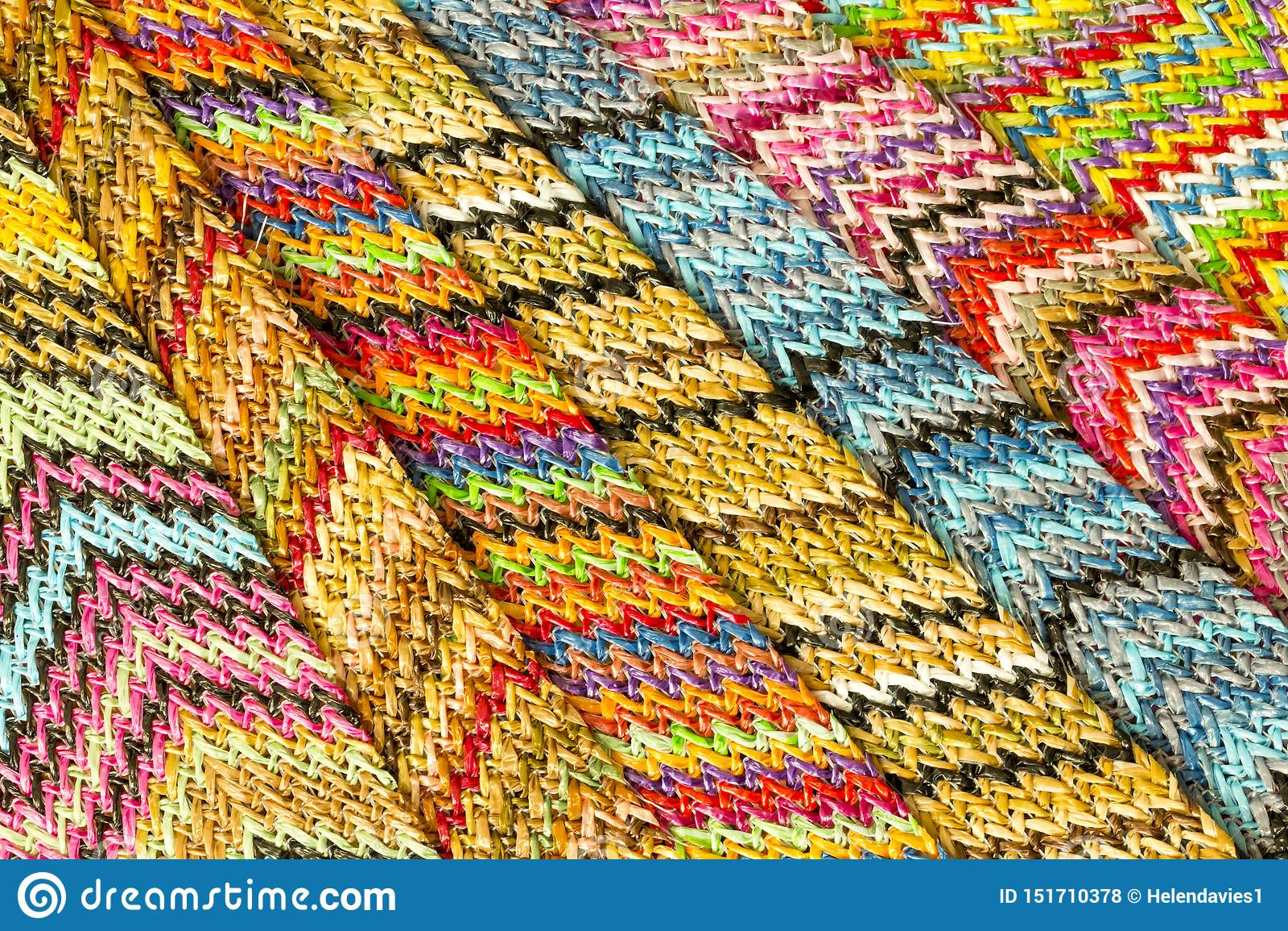 Fondo abstracto inconsútil multicolor de Zig Zag