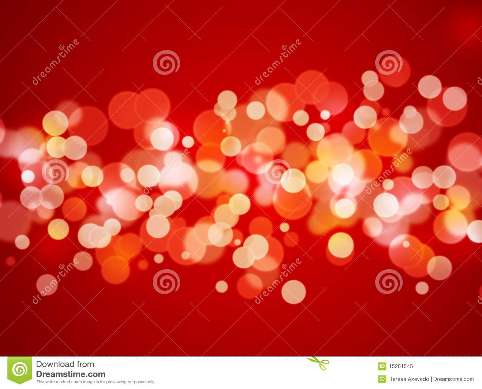 Fondo abstracto - luces de Navidad