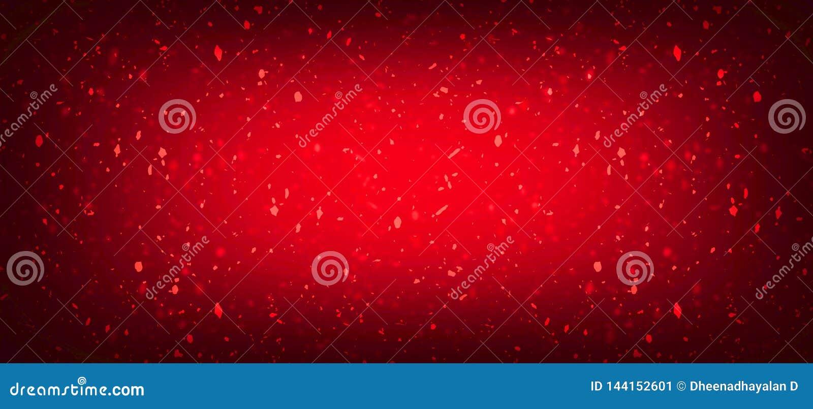Fondo abstracto rojo o pared agrietada roja del vintage de la textura Fondo hermoso del grunge