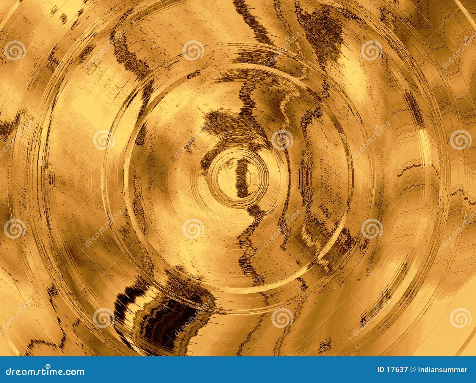 Fondo abstracto sucio con los círculos