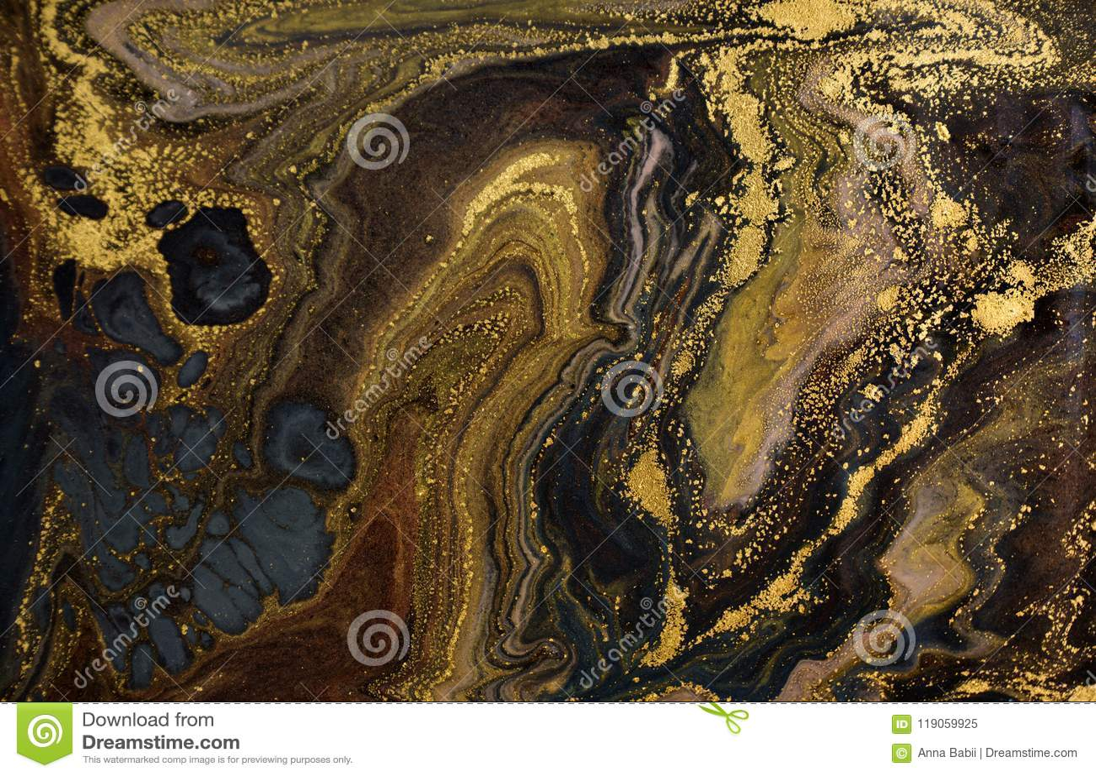 Fondo acrilico astratto di marmo Struttura di marmorizzazione del materiale illustrativo Modello dell ondulazione dell agata Polv