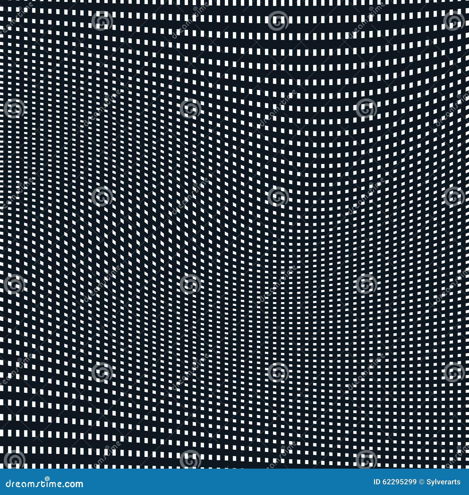Fondo alineado extracto, estilo de la ilusión óptica Líneas caóticas