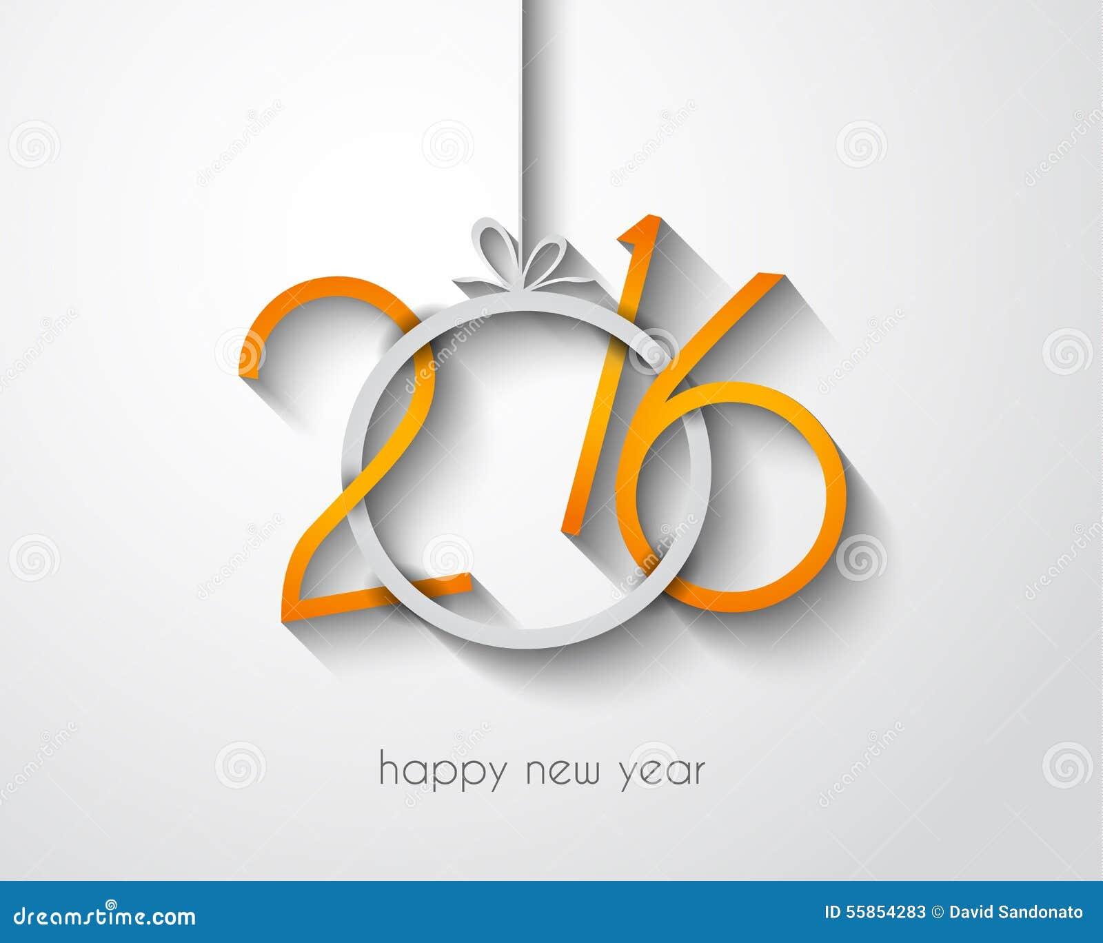 2016 fondo allegro del buon anno e di Chrstmas