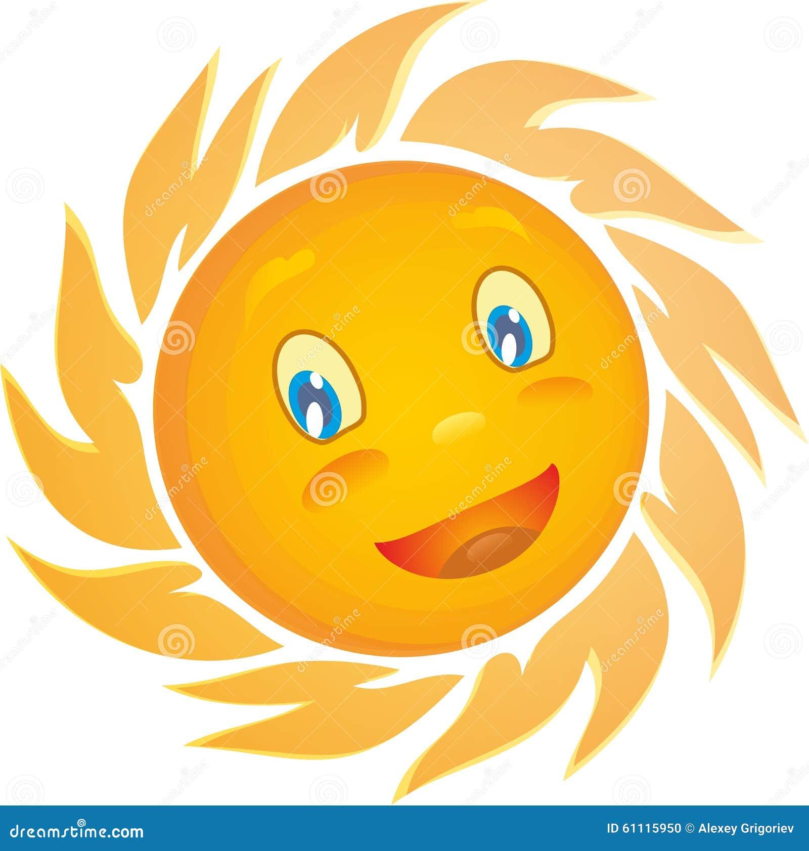 Fondo amarillo del blanco del sol ilustraci n del vector for Fondo del sol