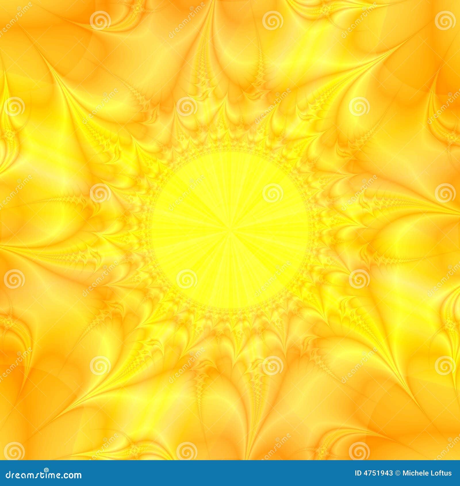 Fondo amarillo del extracto del sol fotos de archivo for Fondo del sol