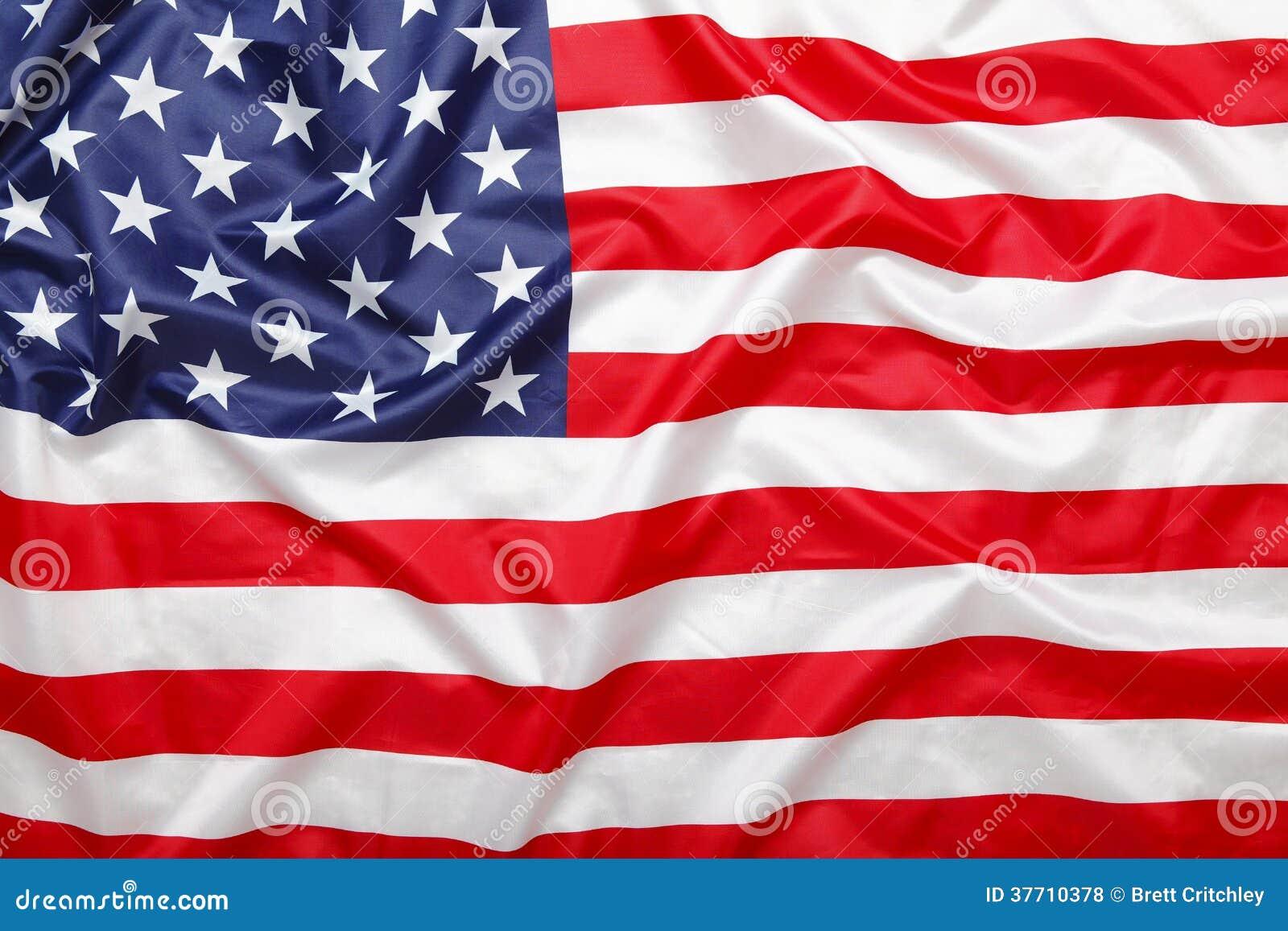 Fondo americano de la bandera de las barras y estrellas