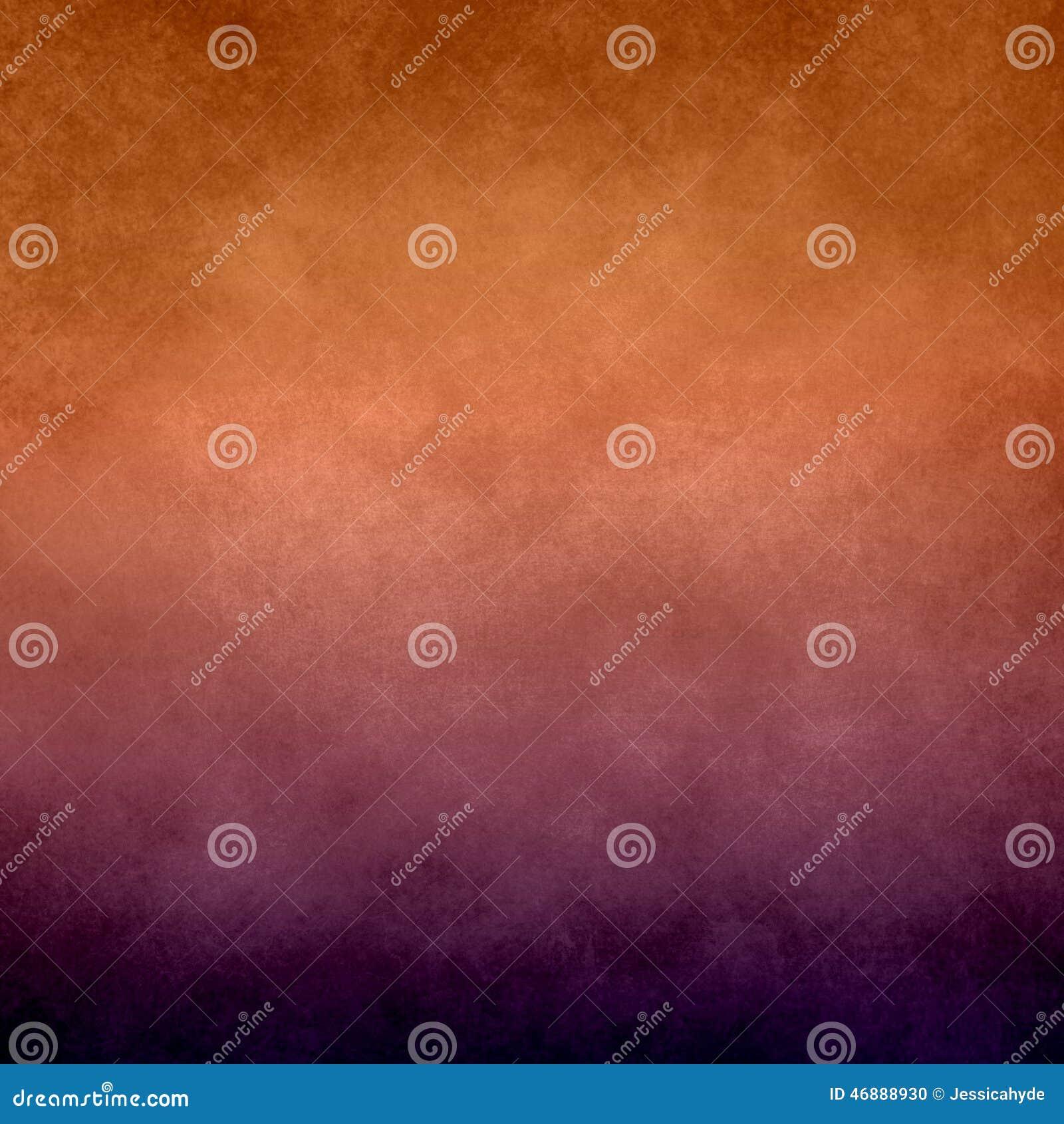 Fondo arancio e porpora astratto