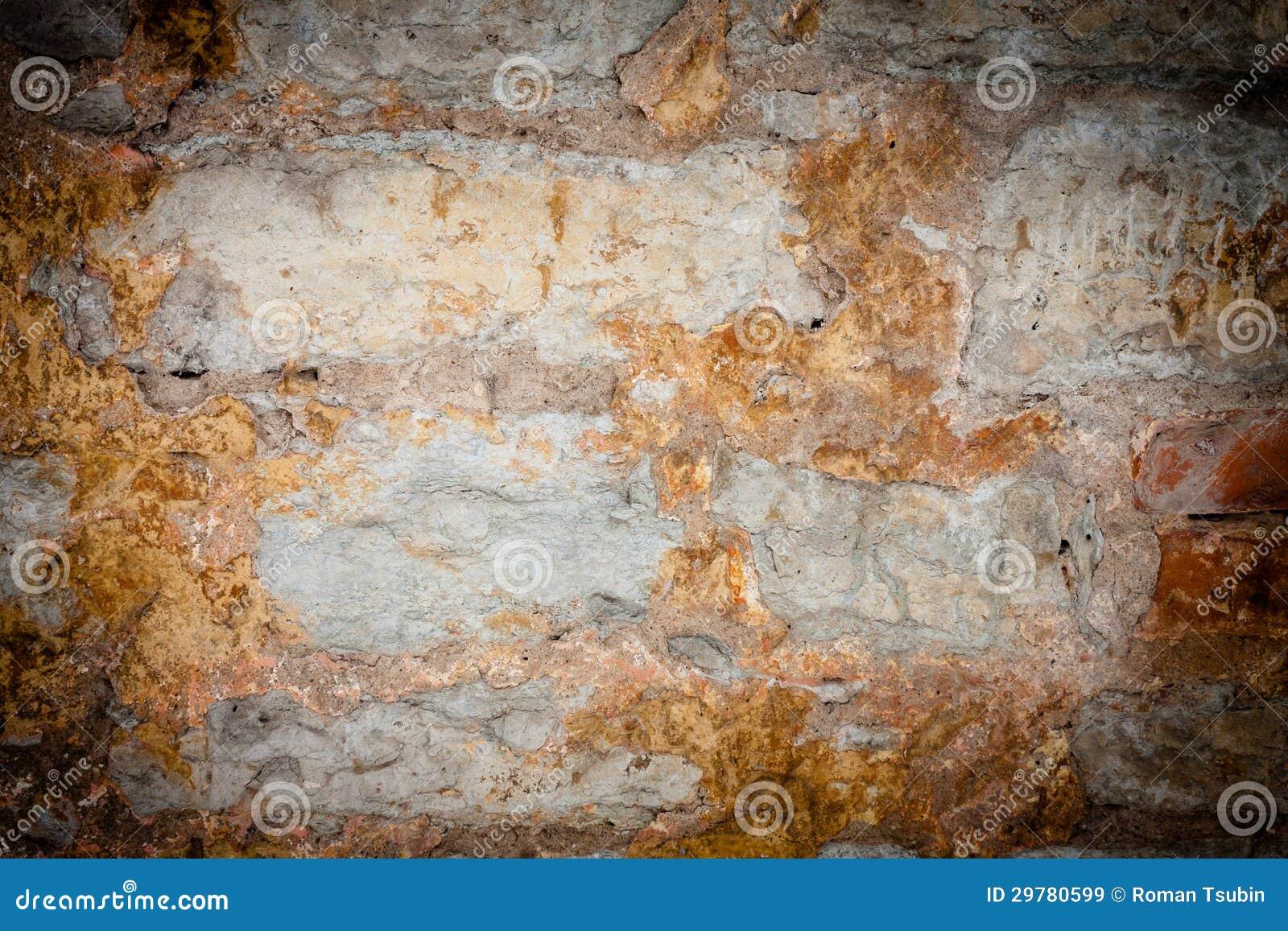 Parete di pietra arrugginita immagine stock immagine di - Parete di pietra ...