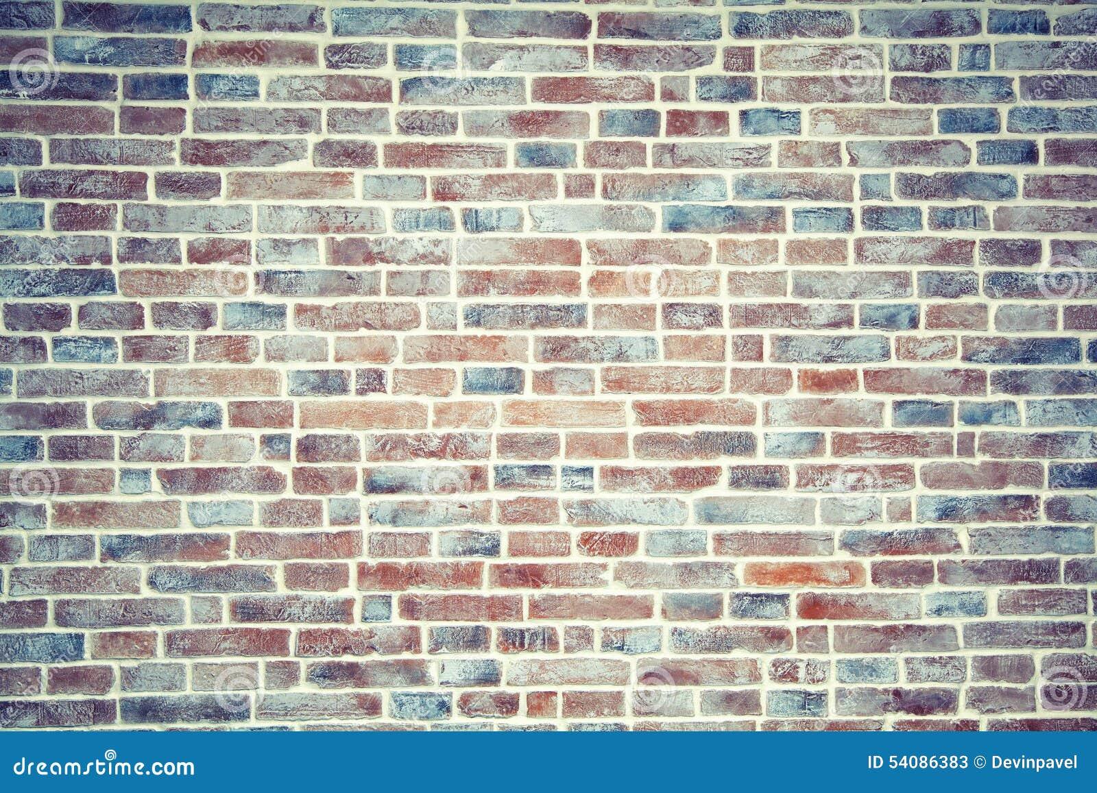 fondo artificial envejecido de la pared de ladrillo
