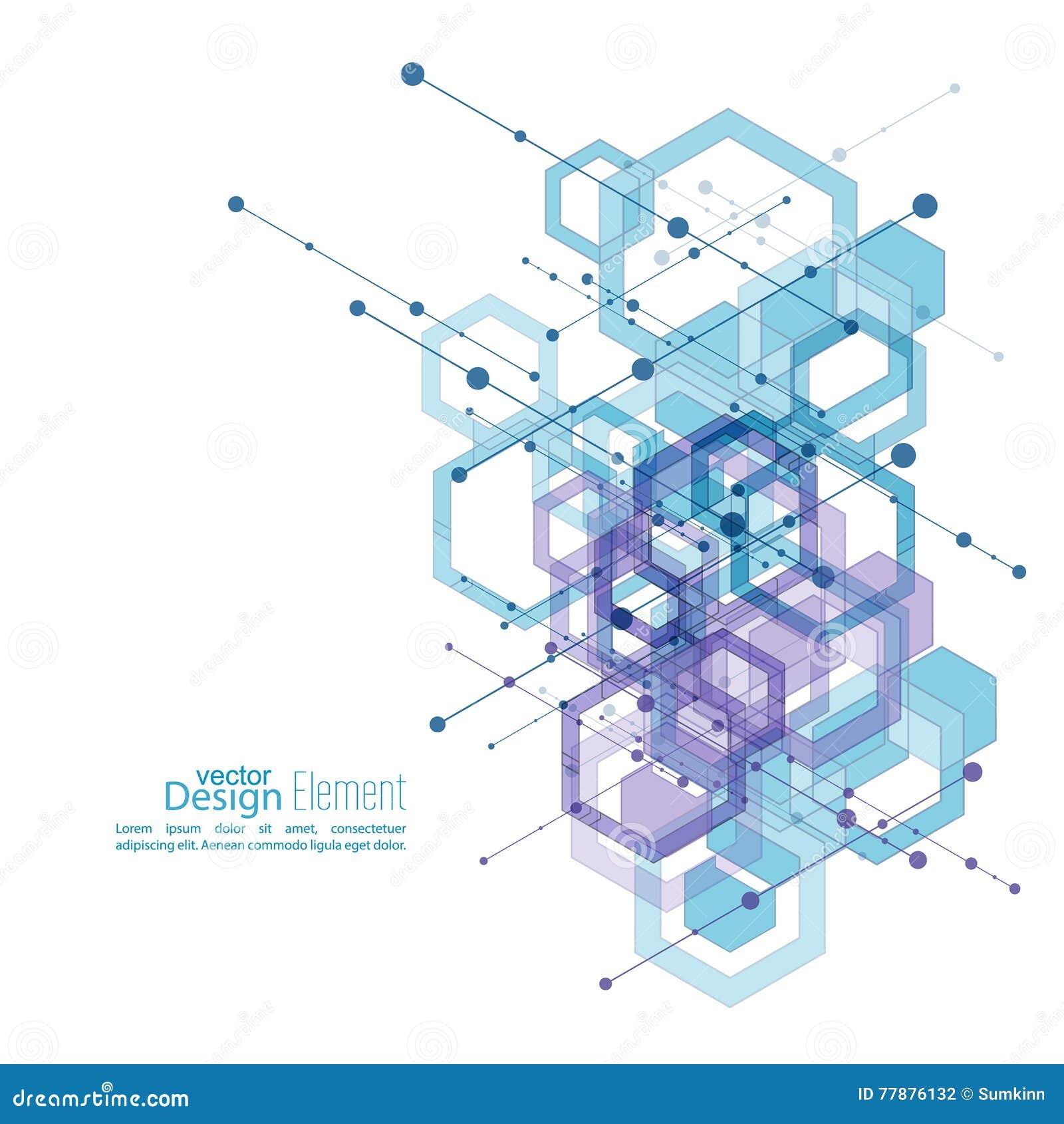 Fondo Aseado Abstracto Ilustración del Vector