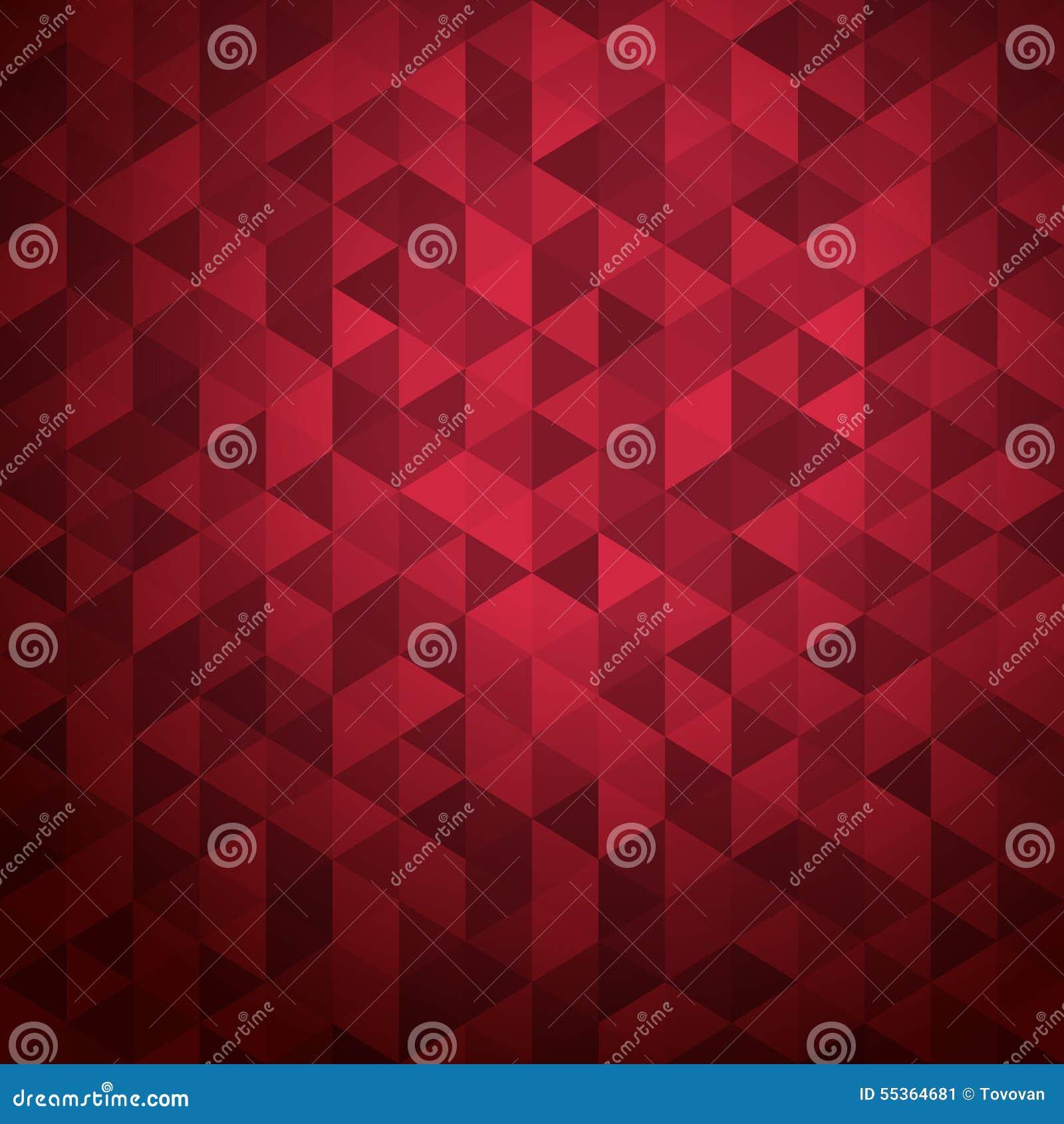 Fondo astratto dei triangoli di colore