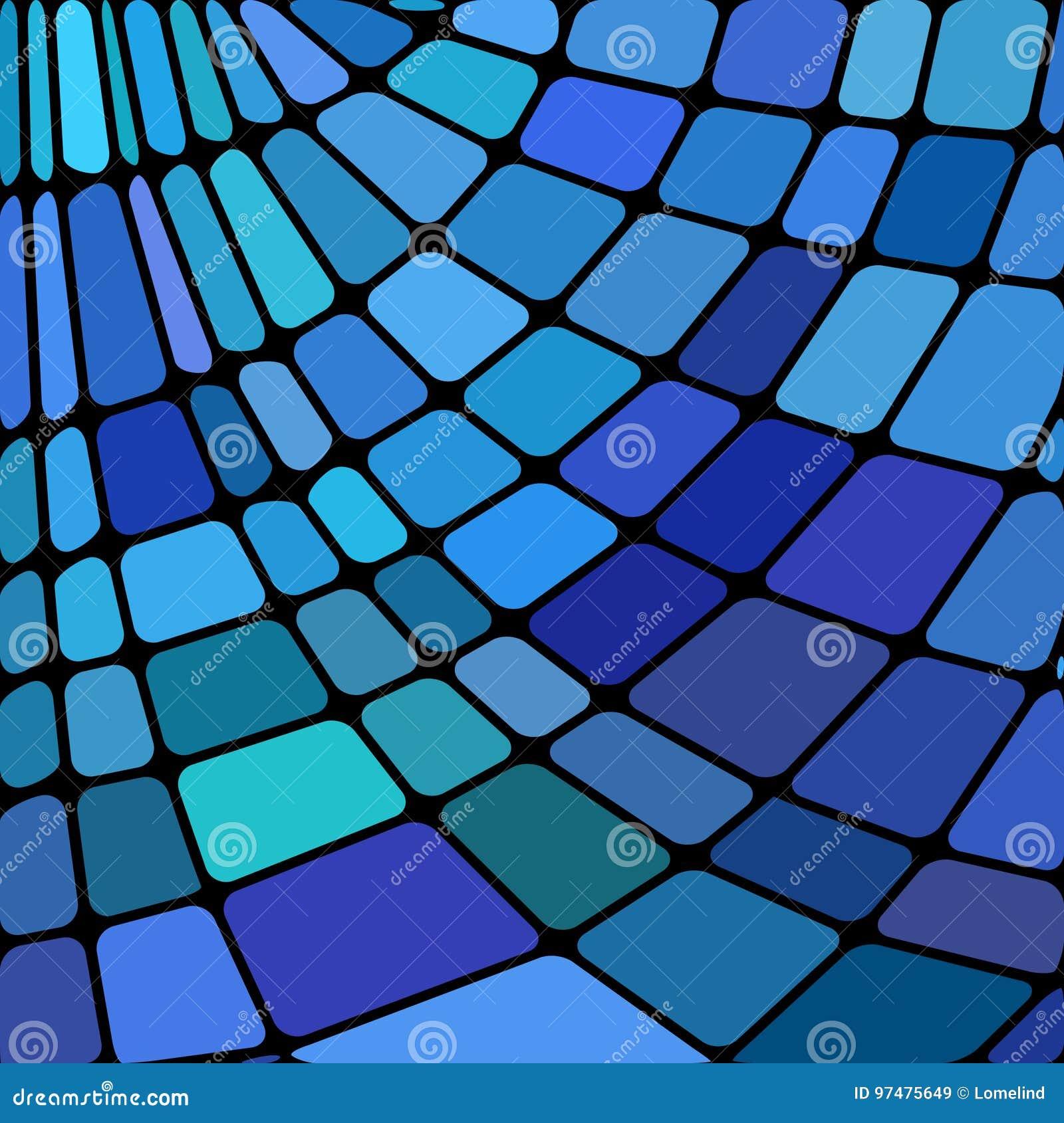 Fondo astratto del mosaico del vetro macchiato