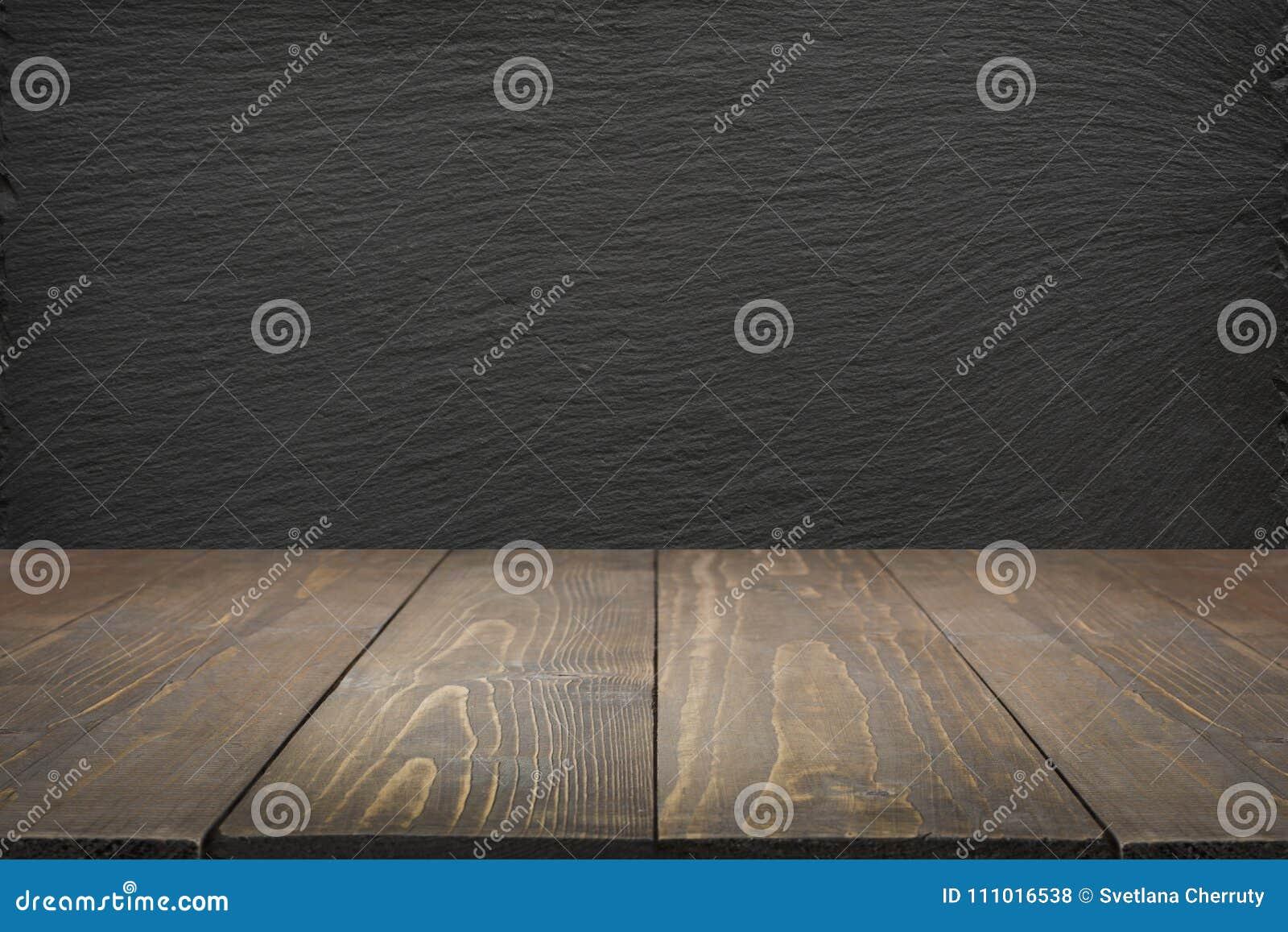 Ripiani In Legno Per Tavoli : Fondo astratto della cucina svuoti il ripiano del tavolo di legno