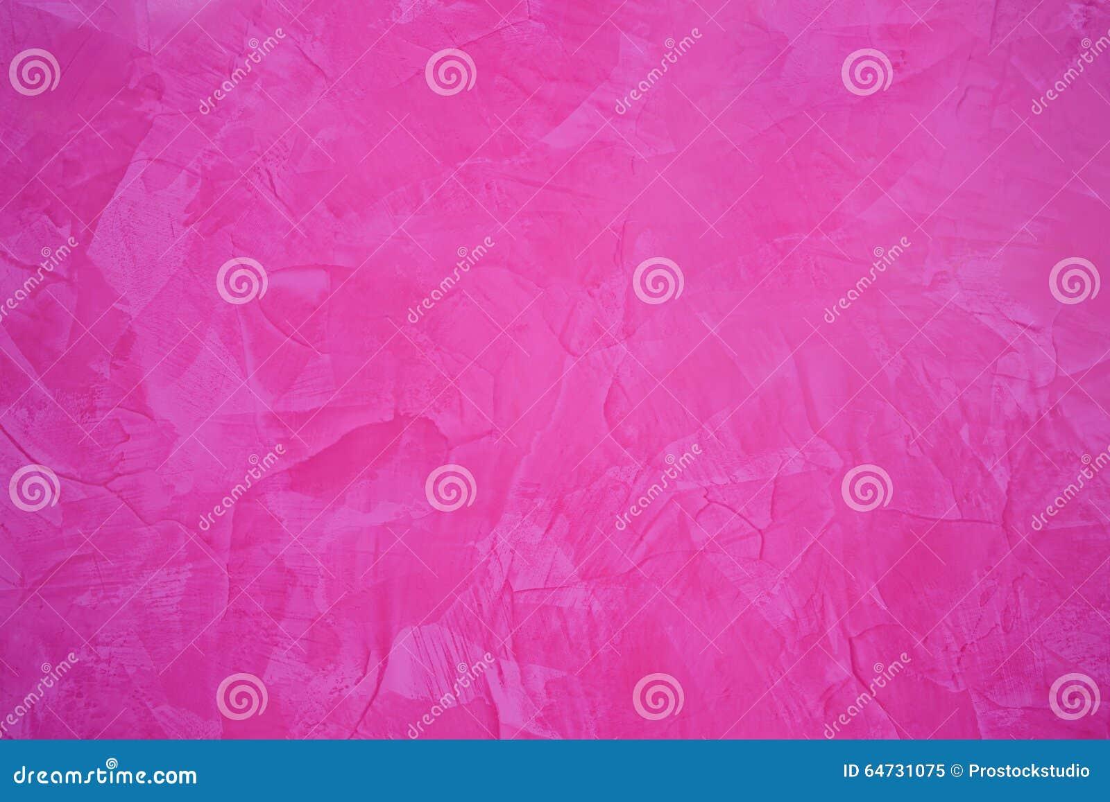 Fondo astratto della pittura nel colore rosa