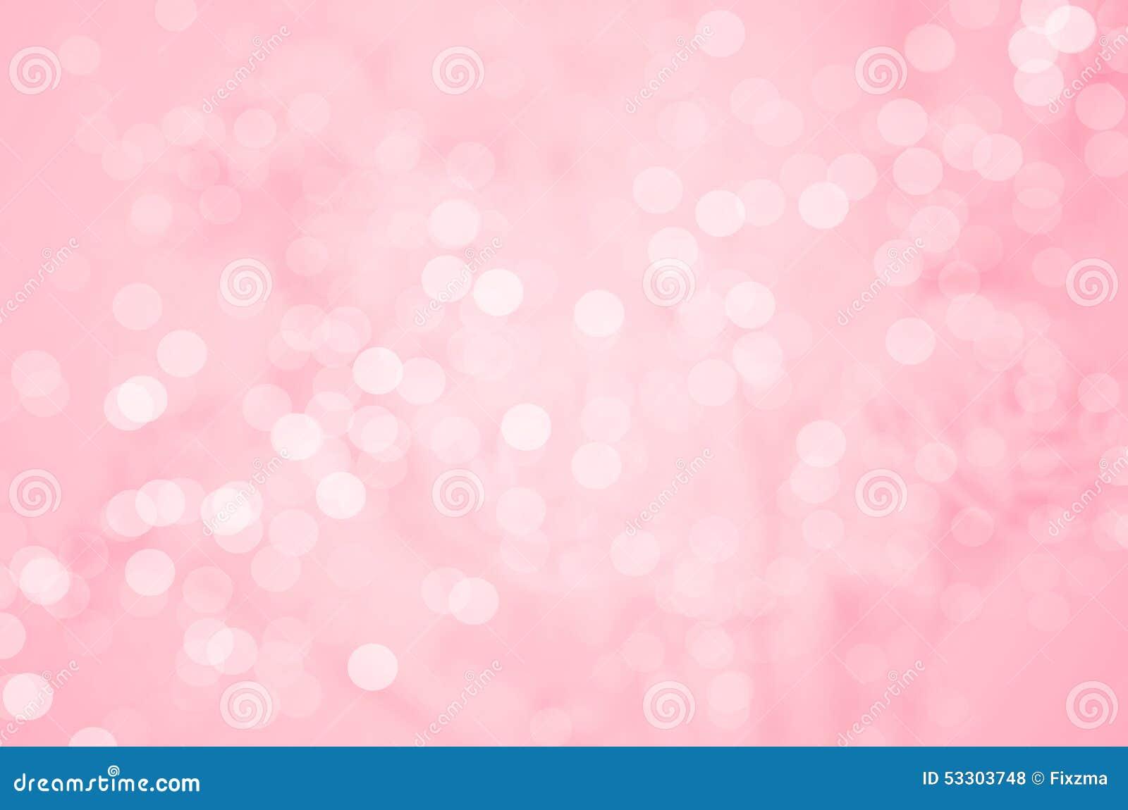 Fondo astratto della sfuocatura: Bello Bokeh rosa