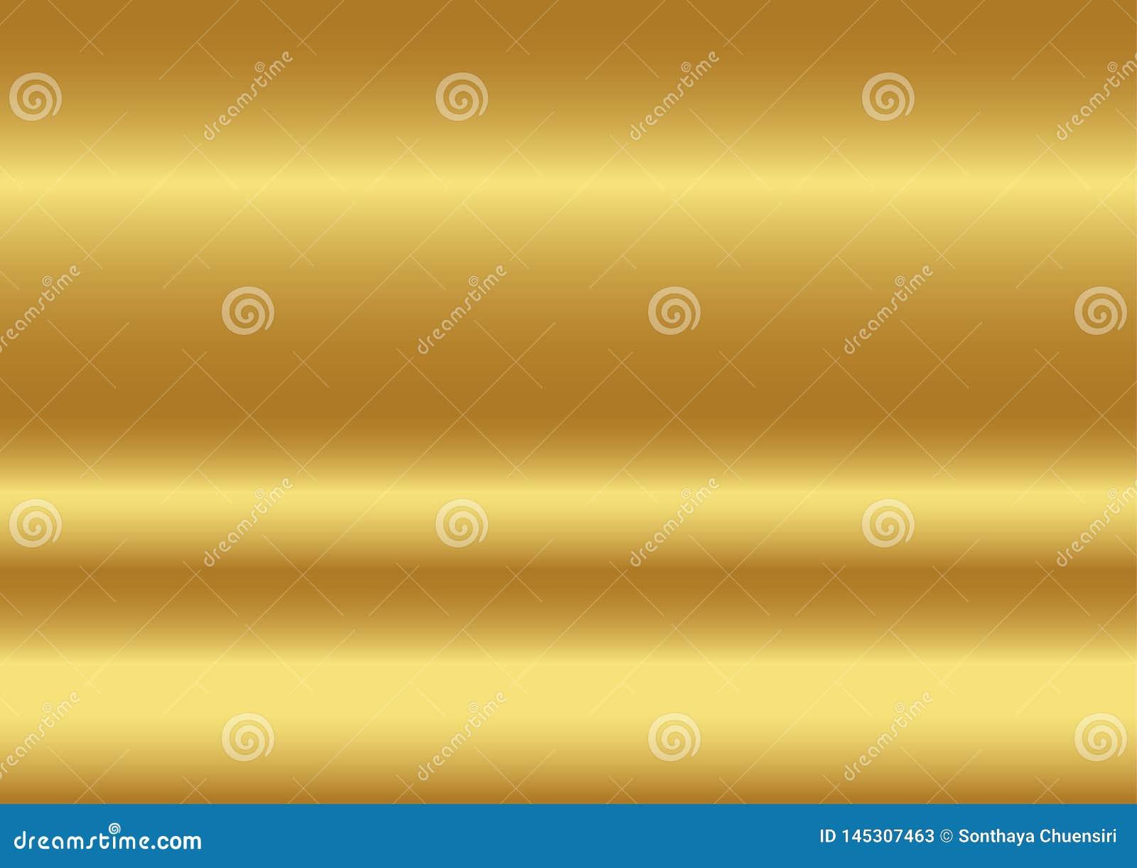 Fondo astratto di colore dell oro, illustrazioni di vettore