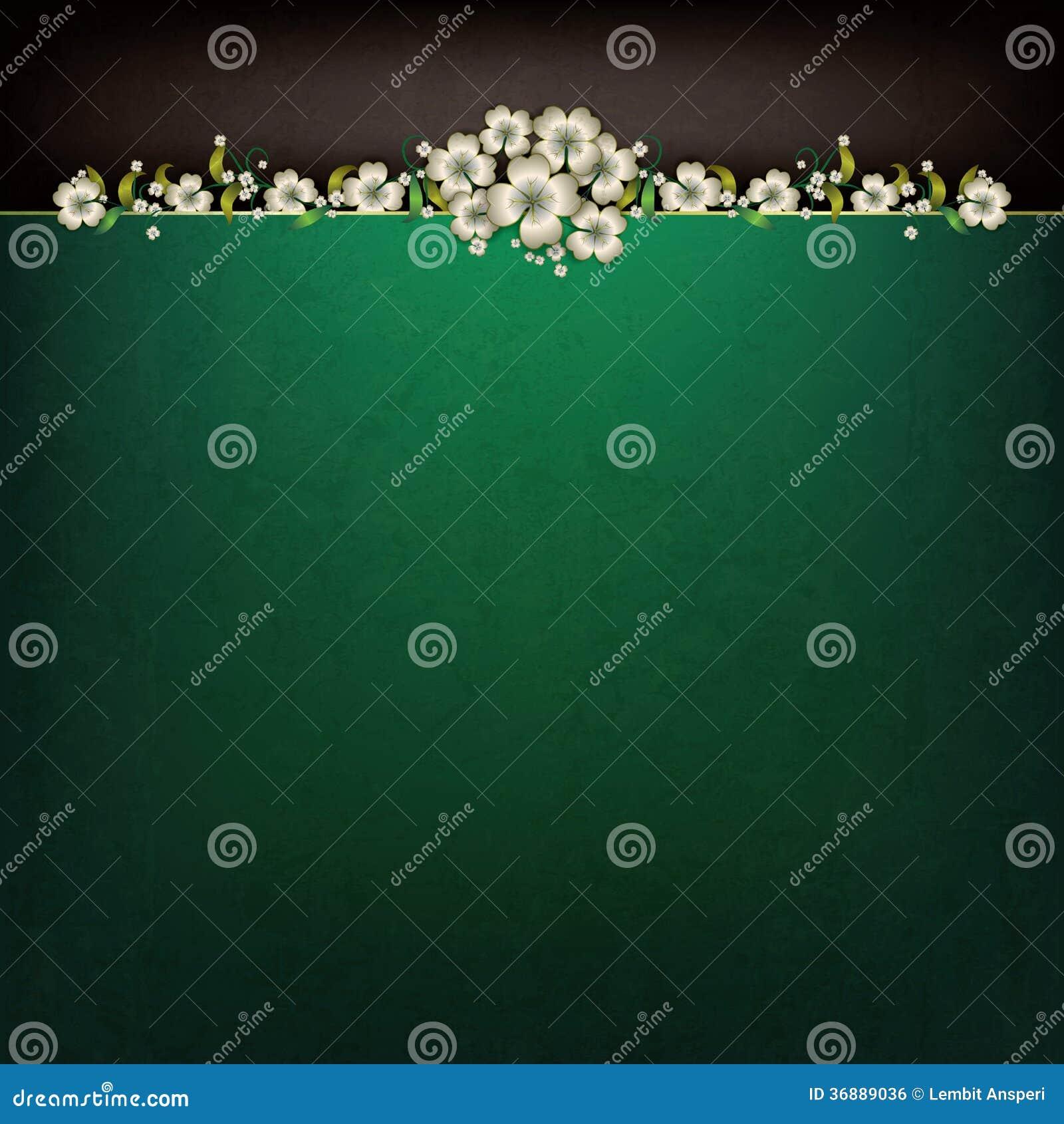 Download Fondo Astratto Di Lerciume Con L'ornamento Floreale Illustrazione Vettoriale - Illustrazione di ornamento, molla: 36889036