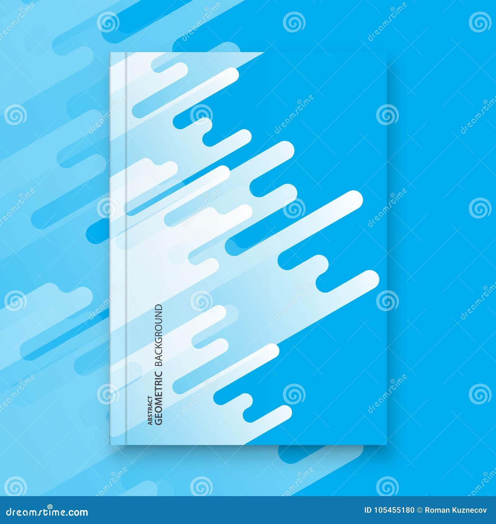 Fondo astratto di progettazione dell aletta di filatoio modello dell opuscolo
