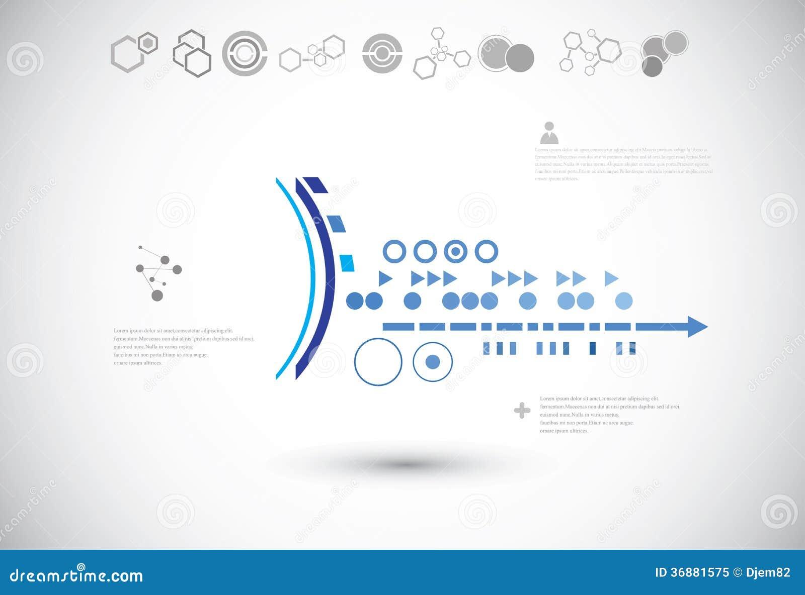 Download Fondo Astratto Di Tecnologia Illustrazione Vettoriale - Illustrazione di industriale, riga: 36881575