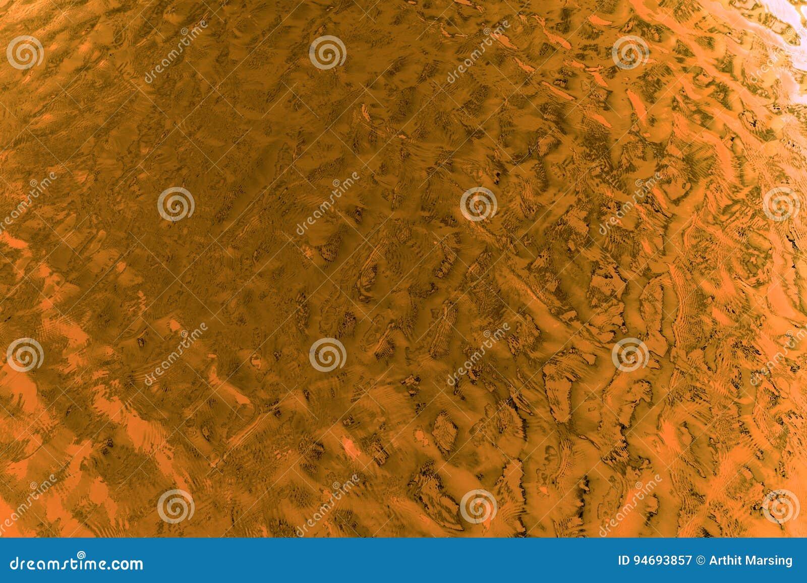 Fondo astratto dorato del grano di struttura