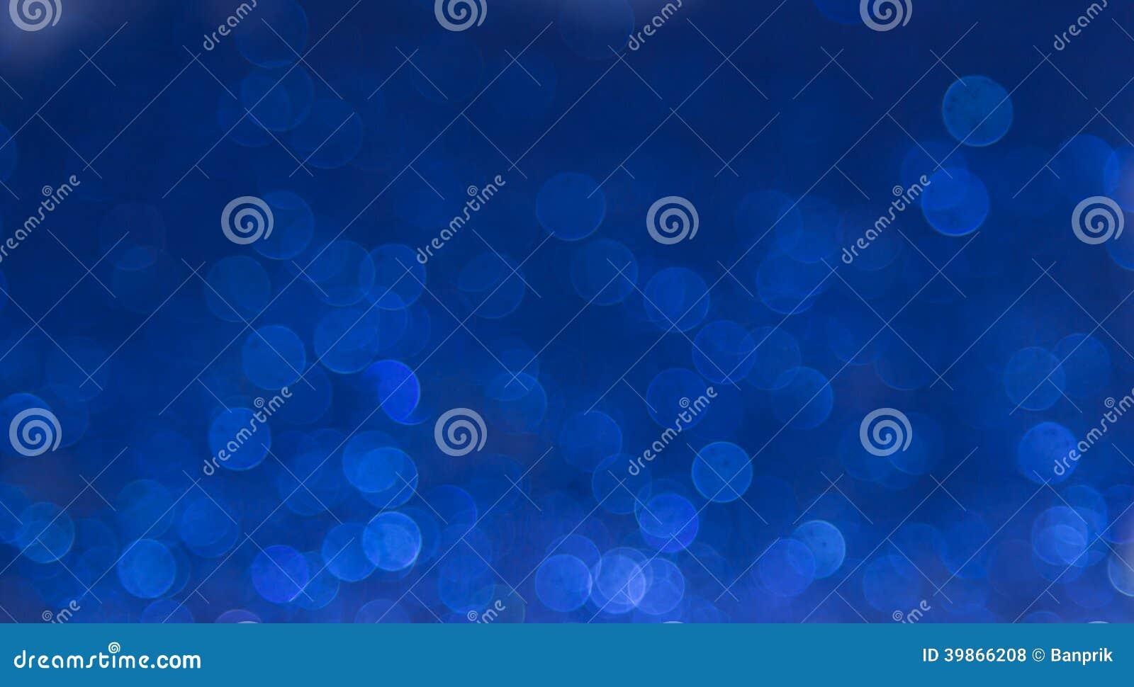 Fondo astratto elegante blu del bokeh
