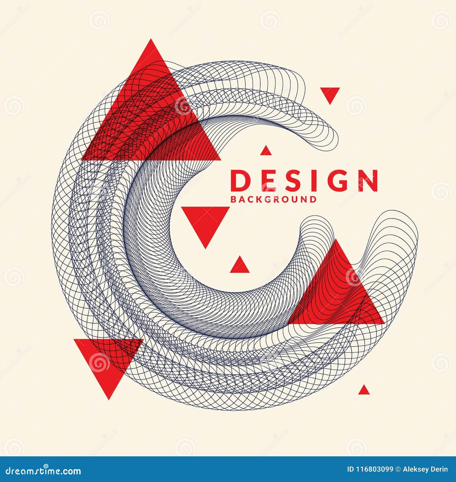 Fondo astratto luminoso con onde dinamiche, in uno stile minimalista