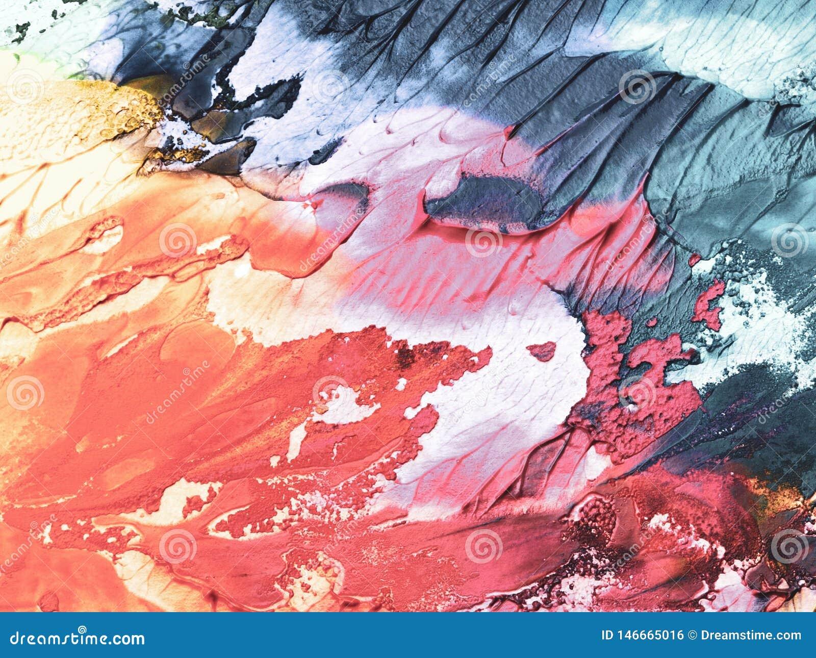 Fondo astratto, parete dipinta nei colori differenti