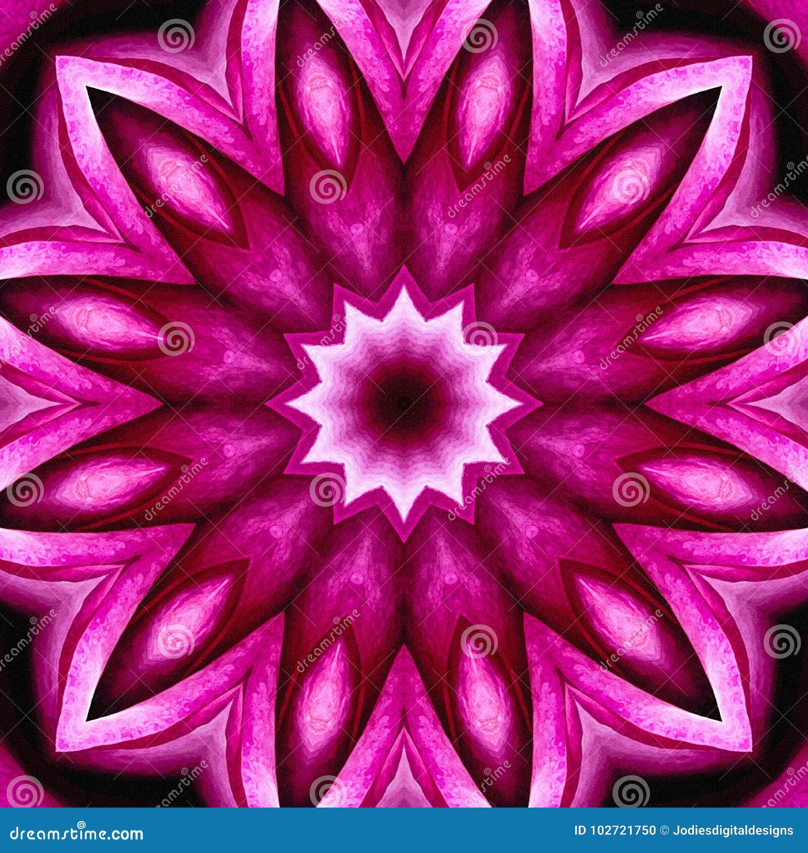 Fondo astratto senza cuciture rosa di fioritura con struttura del tipo di acquerello