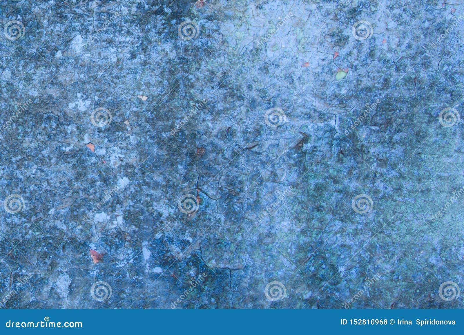Fondo azul abstracto con la pintura
