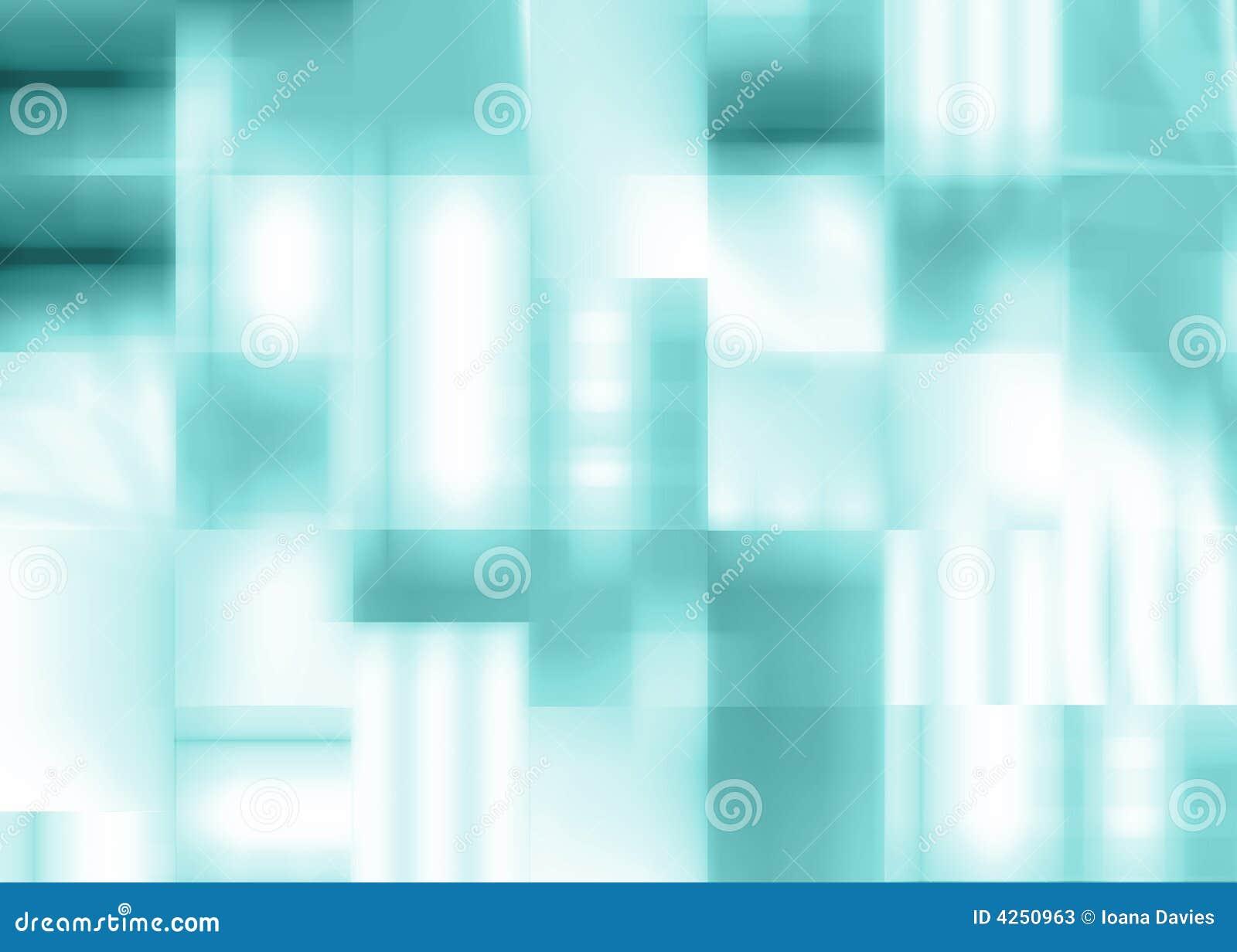Fondo azul abstracto de cuadrados