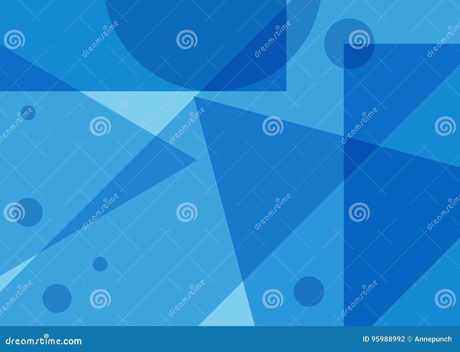 ff3f1b559f50c Fondo Azul Abstracto Rectangular Con Formas Geométricas Ilustración ...