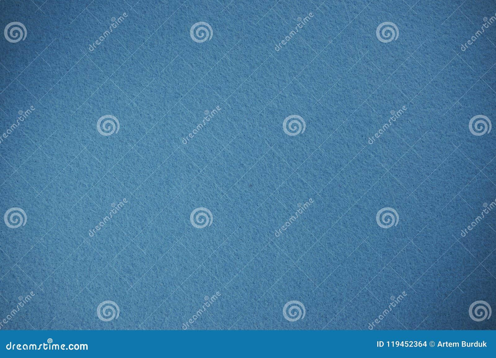 Fondo azul claro de la textura del fieltro