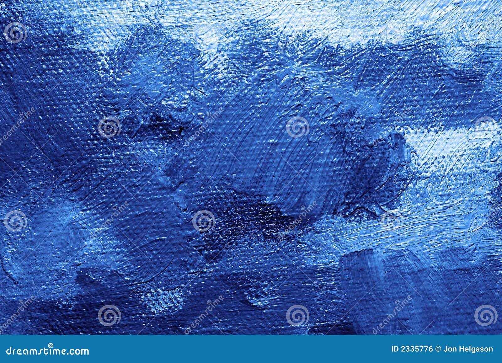 Fondo azul de la pintura al leo stock de ilustraci n for Colores de pintura azul