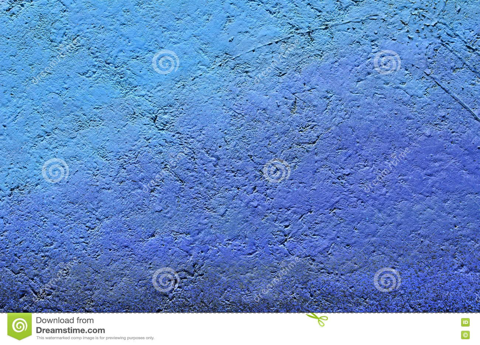 Fondo azul de la pintura de la pendiente