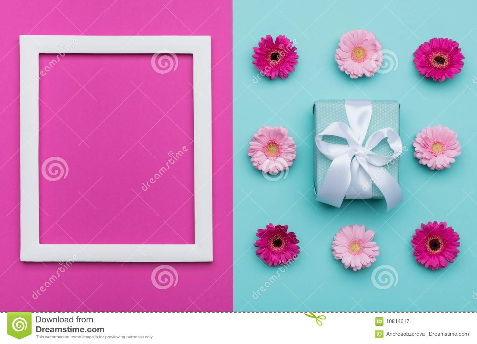 Fondo azul del día o del cumpleaños del ` s del día, de la tarjeta del día de San Valentín de la madre del ` s del ` feliz s del