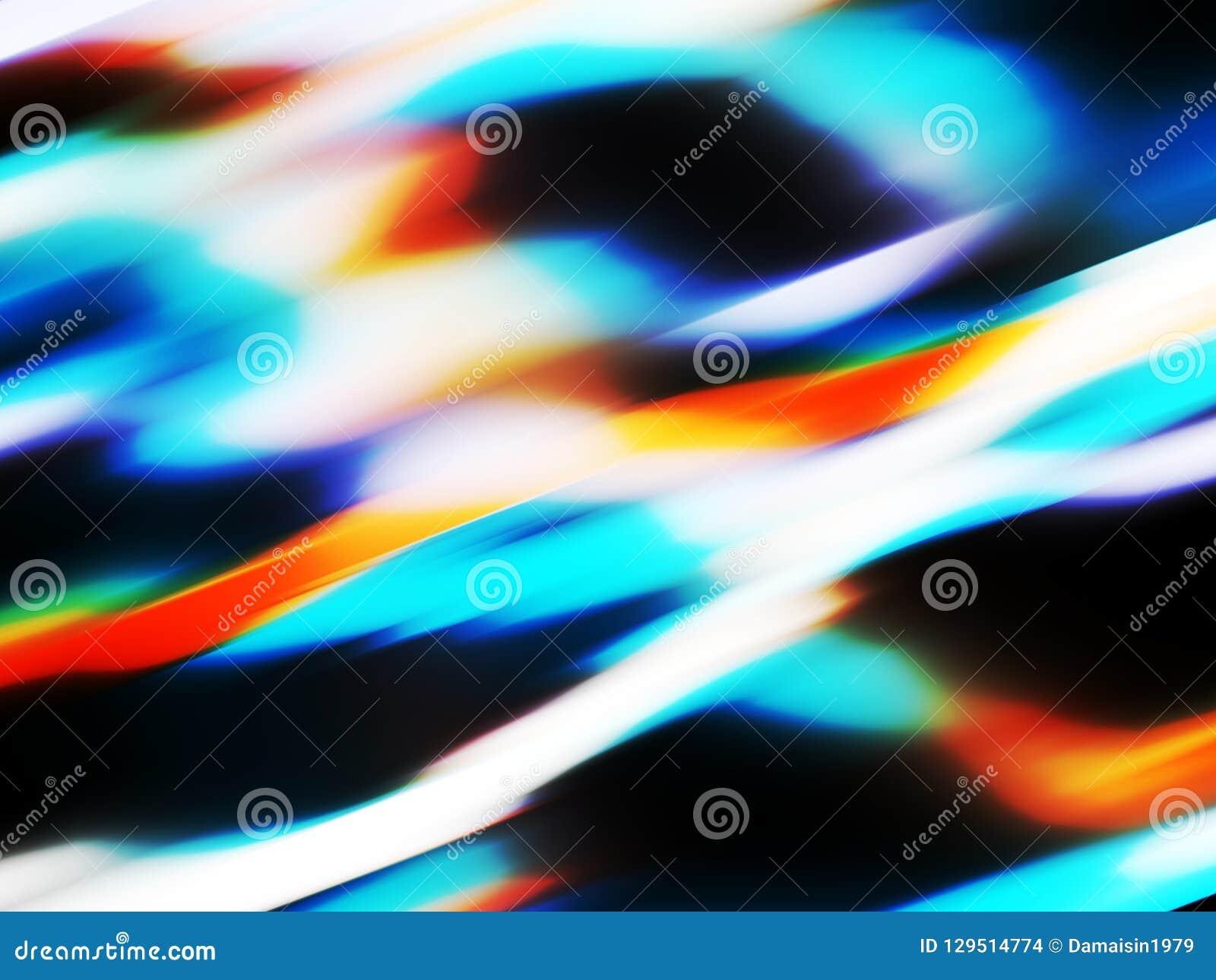 Fondo azul marino vivo elegante de las luces anaranjadas, gráficos, fondo abstracto y textura