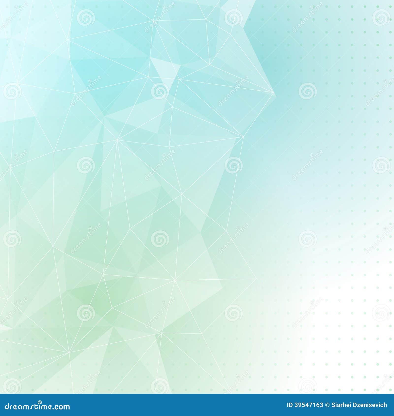 Fondo Azulverde Del Extracto De La Estructura Cristalina