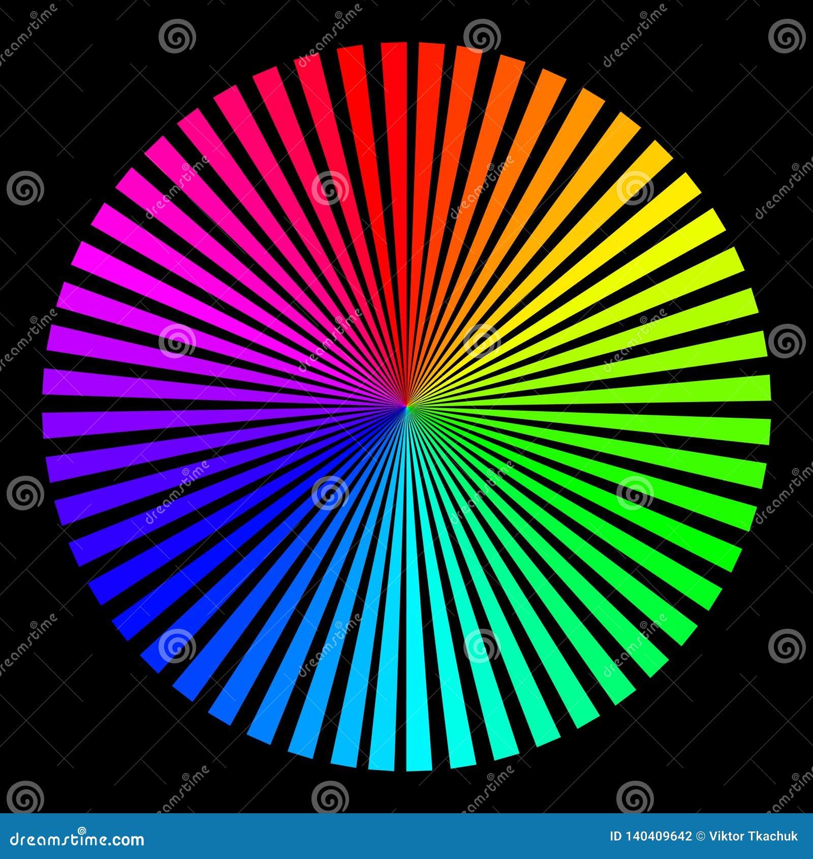 Fondo bajo la forma de bola coloreada