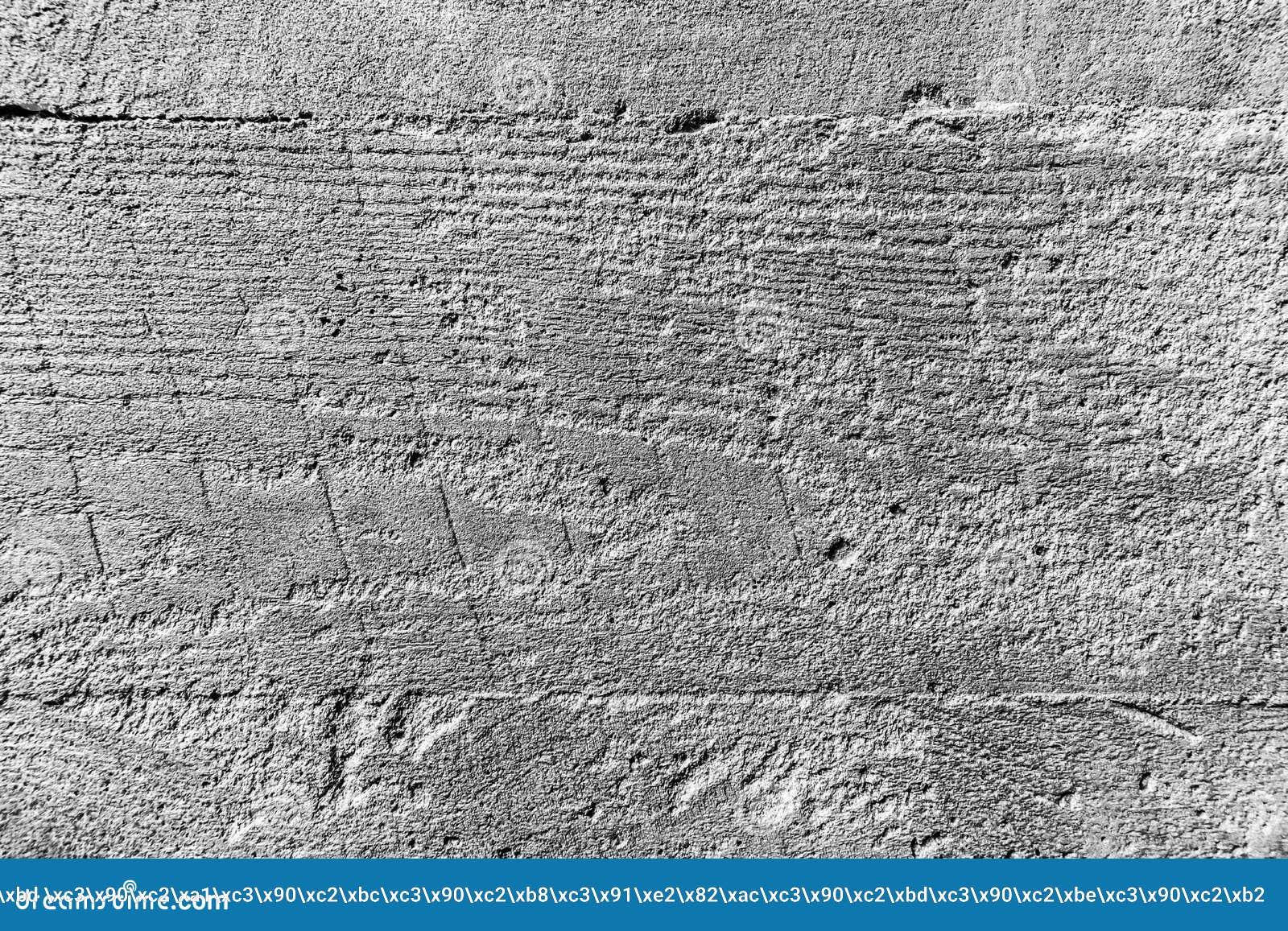 Fondo bianco di struttura del muro di mattoni con Gray Stripes