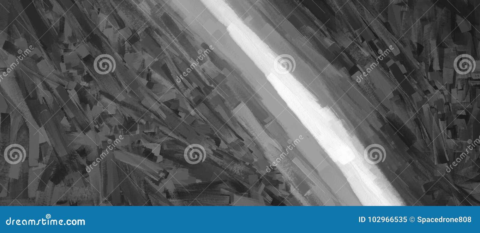 Fondo in bianco e nero diagonale dell illustrazione dei colpi