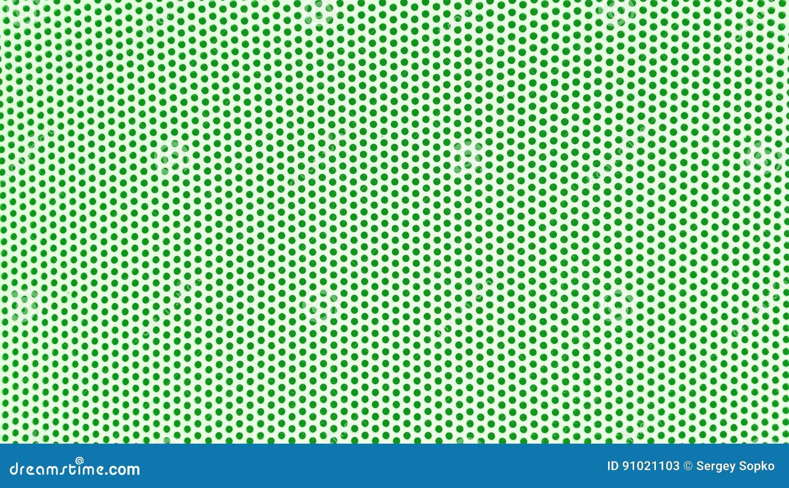 Fondo Blanco Con Verde: Fondo Blanco Con Los Puntos Verdes Imagen De Archivo